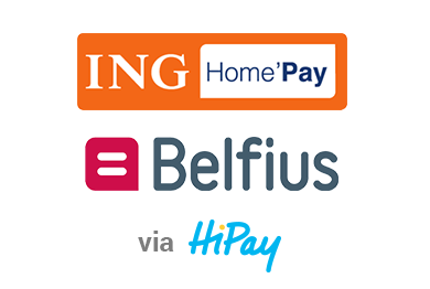 ING and Belfius via Hipay for 100% secure payments at Golden Vegas